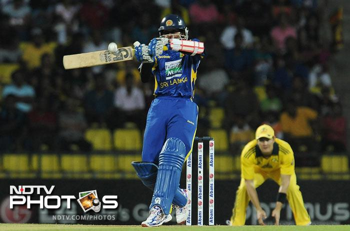 Tillakaratne Dilshan is next on the list with his unbeaten 104 against Australia in 2010, in Pallekele last year. He hit 12 boundaries and five sixes in his innings which took 57 balls.<br><br> Sri Lankan teammate and skipper Mahela Jayawardena also has a 100 against his name. His century came against Zimbabwe in Guyana during the 2010 T20 World Cup.
