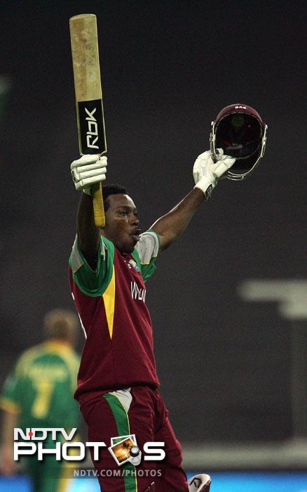 Chris Gayle of West Indies thrashed South Africa during the 2007 World T20 tournament. He plundered 117 runs off 56 balls to send the hosts scampering for cover.<br><br> McCullum, three years later, almost brought down the figure but fell one short on 116.