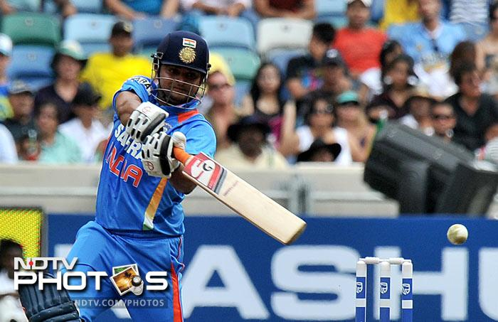 India's Suresh Raina hit 101 off 60 against South Africa during the last World T20 tournament.<br><br>Scotland's Richard Berrington wraps up the list with his 100 against Bangladesh at The Hague in July this year.