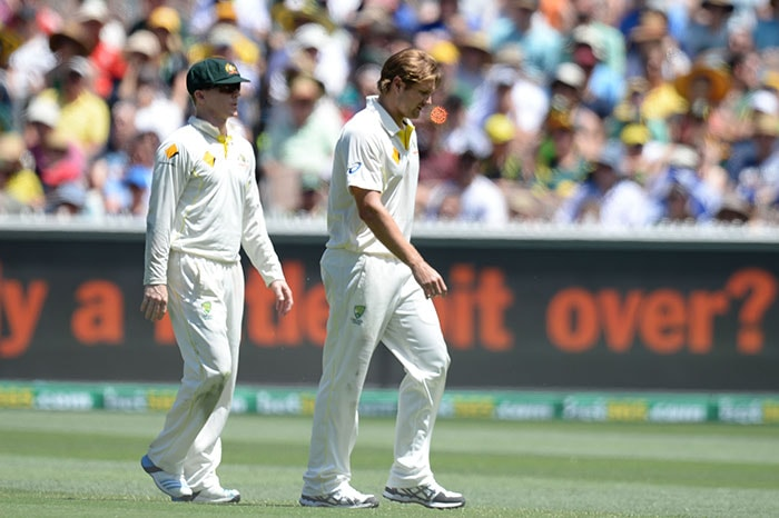 After dismissing Michael Carberry for 38, Watson got an injury setback with pain in the groin. He left the field towards the latter part of the second session and returned on the field in the final session of play.