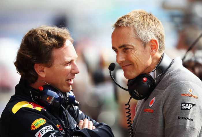 McLaren are yet to win a title since Martin Whitmarsh took over from Ron Dennis as the Team Principal in 2009. Whitmarsh will be looking to put an end to this wait. (Getty Images)