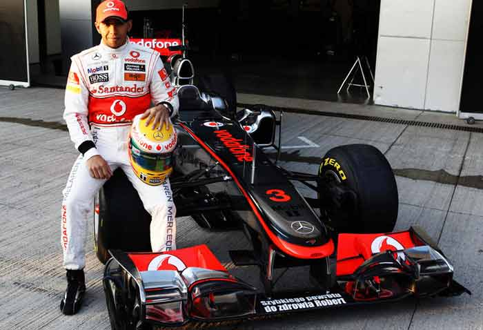 """Hamilton is itching to repeat his 2008 feat of winning the title and is not ready to give up despite finding the car below expectations. """"As long as we pick up a good few points in the first few races, then we won't be miles behind,"""" he said. (Getty Images)"""