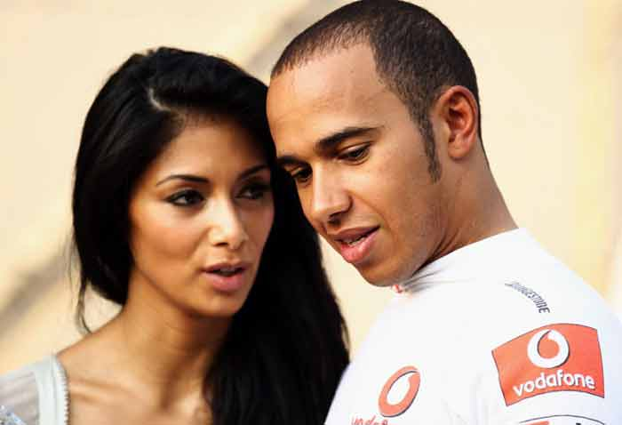 Hamilton's high-profile girlfriend Nicole Scherzinger can be expected to be by his side at least at some races, irrespective of McLaren's fate this season. (Getty Images)