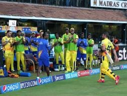 Photo : IPL 8: Brendon McCullum's Blazing Ton Gives Chennai Second Win