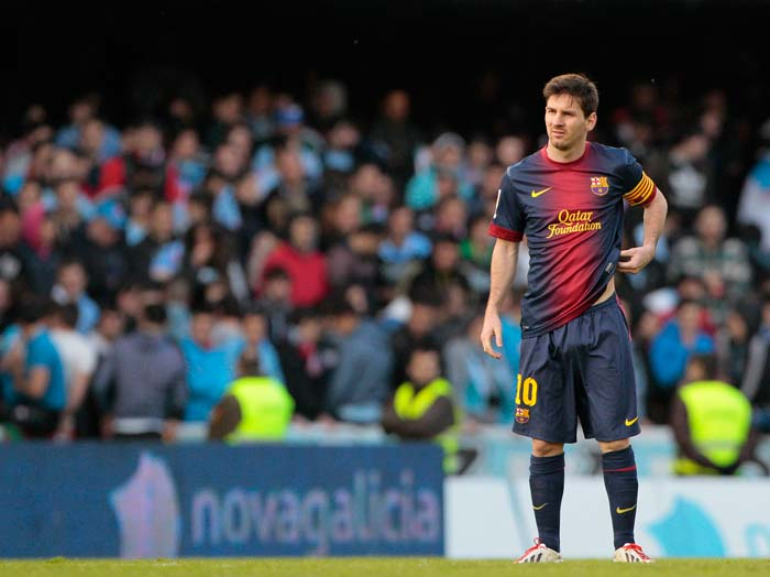 Messi knows he will have to be at his best during Barca's next game against Paris Saint-Germain in the UEFA Champions League.
