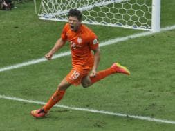 Photo : FIFA World Cup: Netherlands Stun Mexico, Enter Quarters