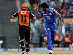 Photo : IPL 2015: Mumbai Indians Stun Sunrisers Hyderabad