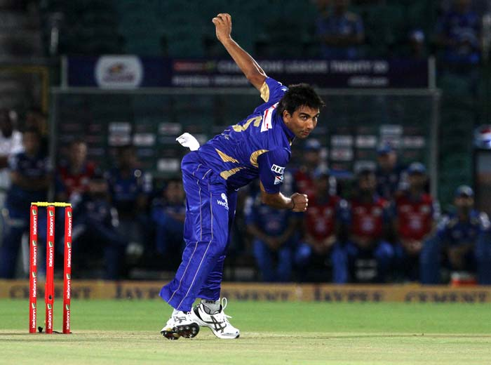 The start was the not the best for Mumbai Indians, who were put into bat by Rajasthan Royals skipper Rahul Dravid. Rajasthan's medium pacer Vikramjeet Malik was the star of the show with the ball, taking three wickets and ultimately the man-of-the-match award.