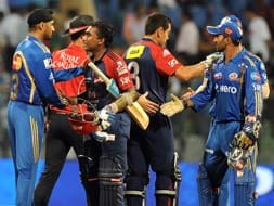 Photo : IPL 5: Delhi ease past Mumbai by 7 wickets