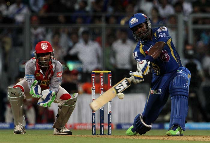 Dwayne Smith looked in a punishing mood and hit 33 quick runs before falling to Chawla. (Image credit BCCI)