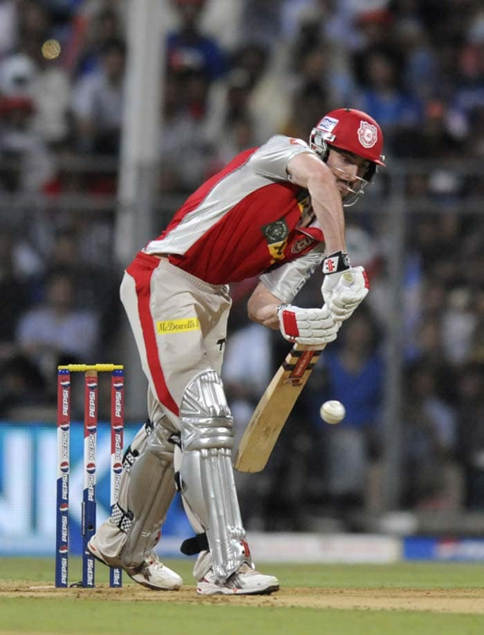 Punjab were looking to Shaun Marsh to give them a good start. (Image credit BCCI)
