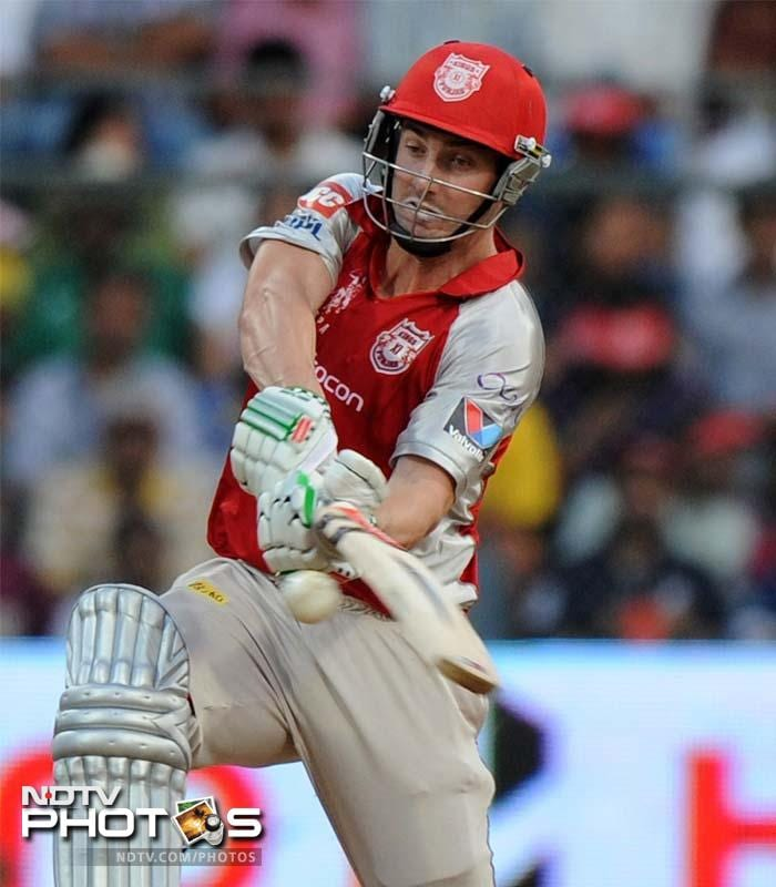 Shaun Marsh stayed on till the end to see Kings XI Punjab home and ensure there was no collapse in their upset win over Mumbai Indians. (AP Photo/ Rajanish Kakade)