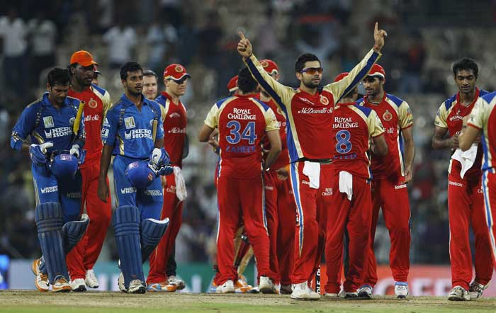 Royal Challengers Bangalore routed Mumbai Indians by 43 runs to make their way into the final. Bangalore will play Chennai Super Kings in the title clash.