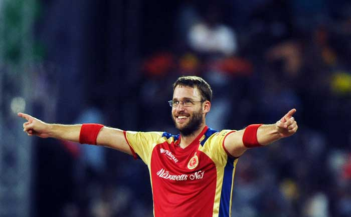 Royal Challengers Bangalore captain Daniel Vettori was the pick of the bowlers with 3 wickets against Mumbai Indians at Chennai.
