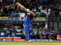 Photo : IPL: Mumbai Indians Edge Rajasthan Royals in Thriller to Make Playoffs