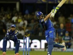 Photo : IPL 8: Steven Smith Breaks Mumbai Hearts, Keeps Rajasthan Unbeaten