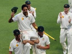 Photo : Mitchell Johnson's Final Moments Before Going Into the Sunset