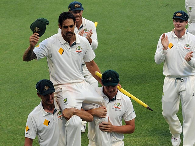 Mitchell Johnson's Final Moments Before Going Into the Sunset