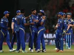 Photo : IPL 2015: Harbhajan, Rohit Star as Mumbai Win First Match of Season 8