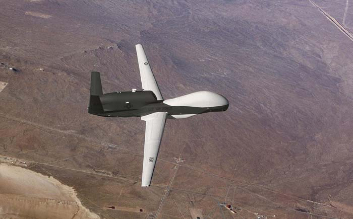 The National Technical Research Organisation has been called in for air surveillance. NTRO is expected to make use of unmanned air vehicles (in pic) to prevent possible aerial threats. Anti aircraft guns have been positioned on the ground as well. (Image used for representational purpose)