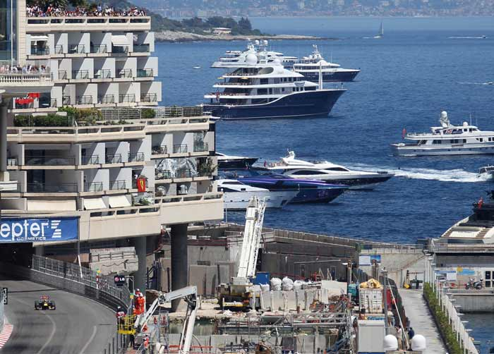 With yachts competing with the fastest breed of Formula One race-cars, few other places other than Monaco can have elements synthesize the manner in which they do here in the second smallest country of the world.
