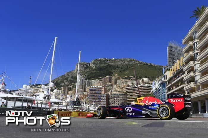 Red Bull has won the last three Monaco GPs - all from pole - but this time defending champion Sebastian Vettel will start from third ahead of teammate and last year's winner Mark Webber.