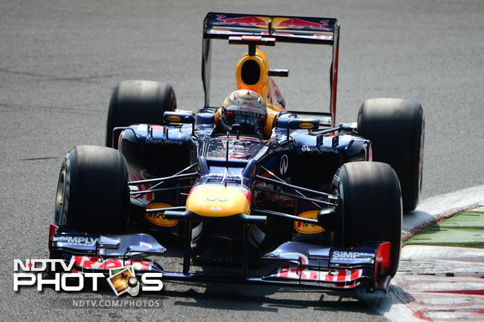 Red Bull's Sebastian Vettel had a decent run at the qualifying session. He will line-up fifth alongside Nico Rosberg.