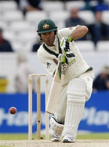 The present Australian captain has so far played 146 matches and scored 12026 runs with the help of 39 centuries. He is hailed as the batsman who can overtake Sachin in Tests. His average is next to that of Sir Don Bradman's in Australia's overall ratings. Like Sachin, Ponting has also scored five double centuries.