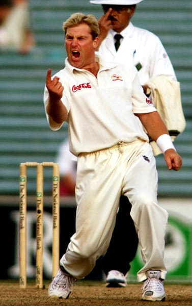 After making his debut in 1992, this spin wizard represented his country in 145 Tests. Credited for reviving the dying art of leg-spin bowling, Warne is undoubtedly the best leg-spinner of all times. He claimed 708 wickets, including 37 five-wicket hauls and 10 ten-wicket hauls.<br><br>Known for his variations and crafty bowling, Warne was the first bowler to take 700 Test wickets. Apart from his bowling, Warne was quite handy with the bat. He scored 3154 runs without scoring a century, a record in itself.<br><br>The delivery that got him the wicket of Mike Gatting in 1993 is known as the ball of the century for it bounced outside the leg-stump and spun sharply to hit the off.