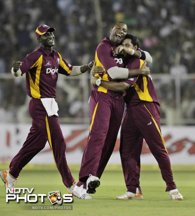 Motera saw it all. And all in a day. West Indies surrendered, rebelled back, thrashed around while India struck, fell, collapsed, resurrected only to finish second best. Take a look to get a better sense of 50-over-a-side drama.