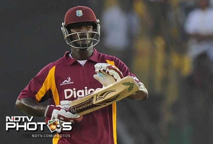 In spite of a dominating display of bowling by the Indian bowlers for most part of the match, a relentless display of power hitting by captain Darren Sammy (41) and Andre Russell (40) took the West Indies score to a respectable 260/5.