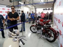 Meet Mahendra Singh Dhoni, the Stylish Biker