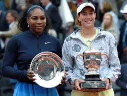 French Open: Garbine Muguruza Stuns Serena Williams To Clinch Maiden Crown