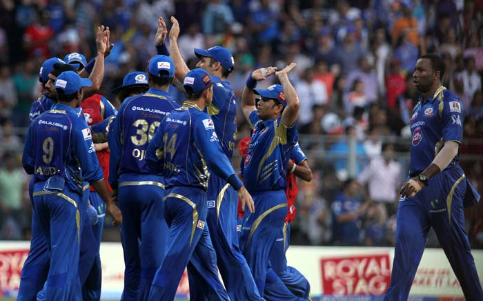 Mumbai Indians bowlers came up with an all-round effort on Saturday, packed with containing bowling and aggressive fielding. Mumbai scored their third win of the tournament and are again in the reckoning. (BCCI image)