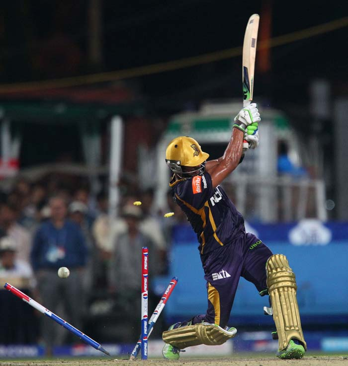 A flurry of wickets towards the end - two in the final over - saw Kolkata posting 160 as target. (BCCI image)