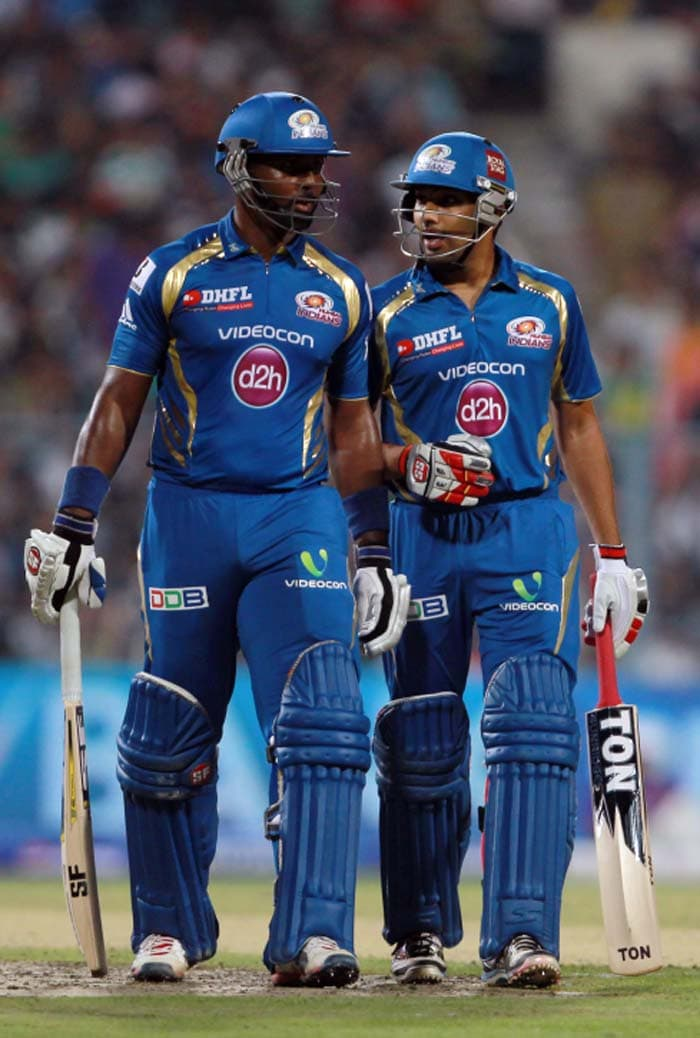 Mumbai Indians in the end, crossed the finish line with a delivery to spare. (BCCI image)