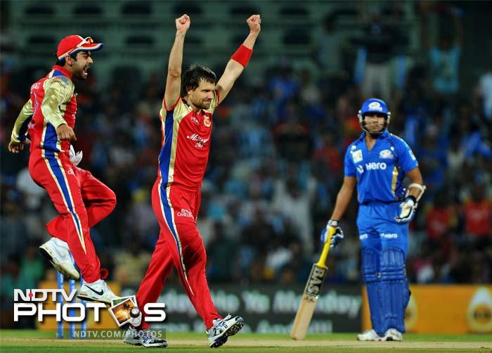 Dirk Nannes spewed venom to tear the batting apart and put Mumbai in a grave spot of bother.