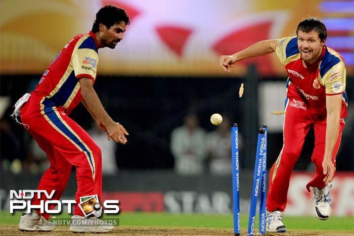 The bowling was good. The fielding was better as three Mumbai batsmen were run-out.