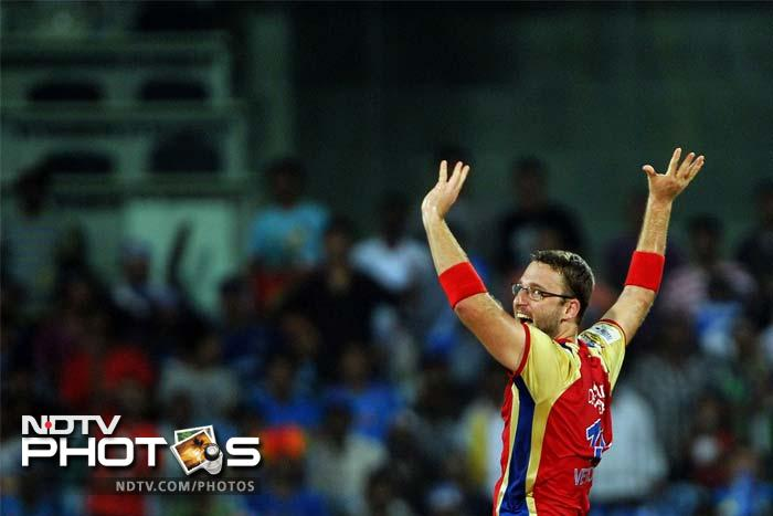 Daniel Vettori, the Bangalore skipper however, managed to dismiss the tail cheaply and took two wickets.