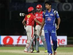 Photo : IPL: MI Stumble In Playoff Race After Loss To KXIP
