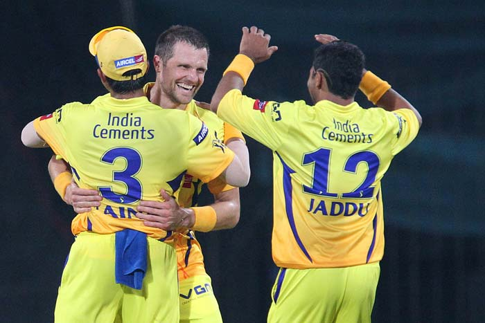 Dirk Nannes excitement level knew no bound when he took the wicket of Master Blaster in the very 1st over.(BCCI Image)
