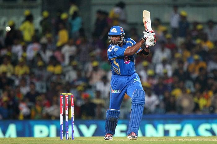 Kieron Pollard hit a bold half-century and helped Mumbai to reach 148/6. (BCCI Image)