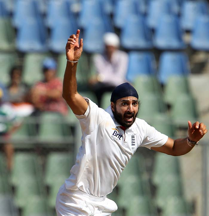 Andy Flower admitted that it was a mistake leaving out Monty Panesar in the first Test. And the left-arm spinner just why as he rocked the famed Indian line-up. In 34 overs, Panesar picked up 4 wickets for 91 runs. (Photo Credit BCCI)