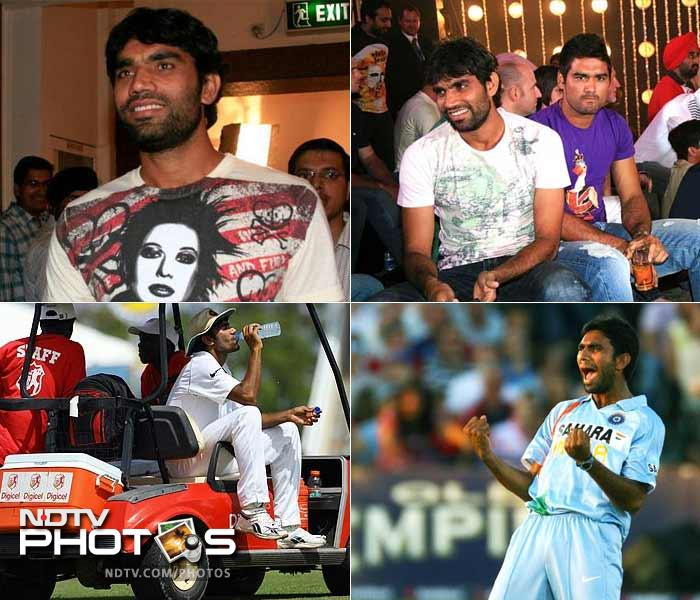 Some say he has lived a fairytale. Others are not to forgiving and blame him for lacking the intent required by an international cricketer. For a lad from a small town in Gujarat though, 28 years have painted quite the contrasts for him. A look at his life on his birthday: (Agency images)