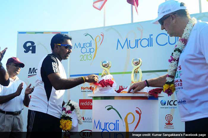 They are known the world over as legends of cricket but for Sri Lanka's Muttiah Muralitharan, Kumar Sangakkara and Mahela Jayawardene, the sport is all about spreading love, promoting harmony and a whole lot of fun. <br><br>The three cricketers recently announced the return of Murali Harmony Cup - a tournament started last year to promote cricket's development in schools in major hubs as well as far-flung places in the country.