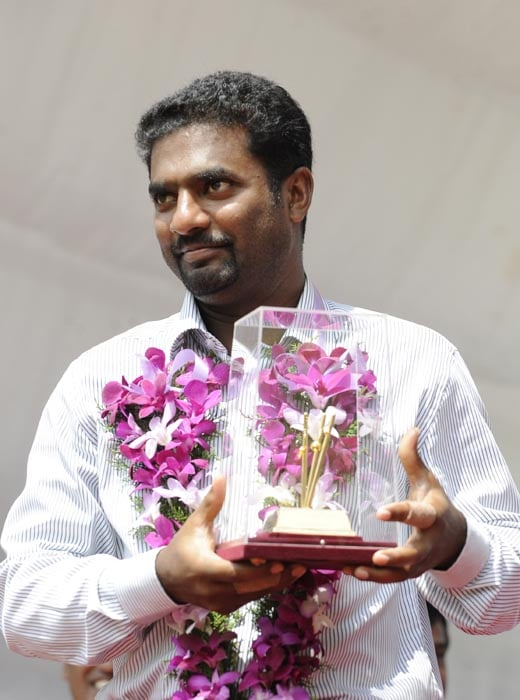 Although Muralitharan had struggled against India in the past picking up only 97 wickets in 21 matches, he came back well in his last Test to pick up 8 wickets in the match.