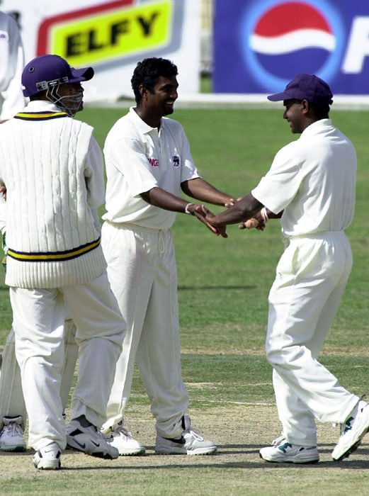 In 1997, Murali became first Sri Lankan bowler to take 100 wickets in Test cricket after he dismissed New Zealand's Stephen Fleming.