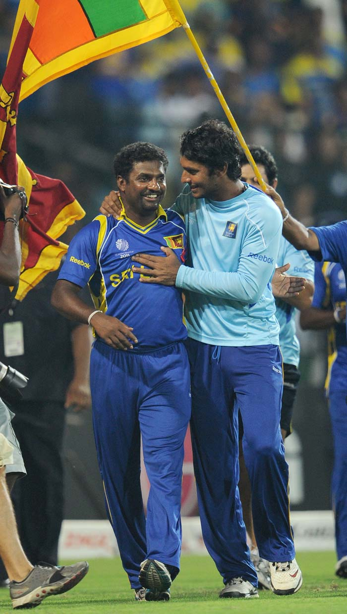 Playing his last match in Colombo, Murali will play his last international match in Mumbai on April 2 where Sri Lanka will play the winner of the semi-final between India and Pakistan.