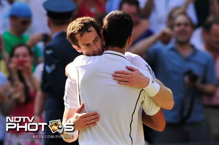 Statistically speaking, Murray was far superior to Djokovic, having fired 9 aces as compared to his opponent's 4. Murray had 72 per cent points won on the first serve while Djokovic had 59 per cent success. Djokovic almost doubled Murray's count of 21 unforced errors with 40. Murray was brilliant at the net as well, winning 70 per cent of the points as compared to Djokovic's 58 per cent success close to the net.