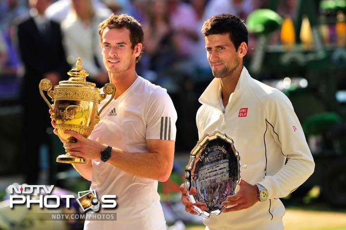 World No.2 Andy Murray became the first British man in 77 years to win a Wimbledon singles title after beating World No.1 and top seed Novak Djokovic 6-4 7-5 6-4 in the final at Centre Court of the All England Club in London on Sunday. (All images AFP)